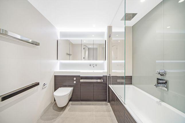 Bathroom of Bessborough House, Battersea Power Station, London SW11