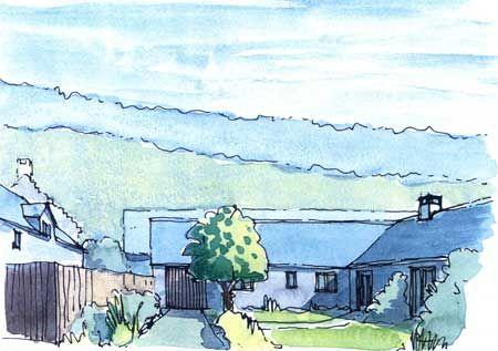 Thumbnail Bungalow for sale in Grange Farm Steading, Mutehill, Kirkcudbright
