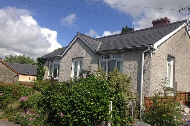 Thumbnail Bungalow for sale in Garth, Aberystwyth, Ceredigion