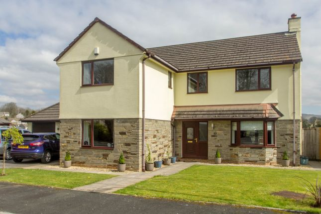 Thumbnail Detached house for sale in Manor Close, Tavistock