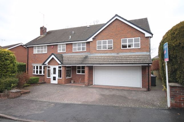 Thumbnail Detached house for sale in Jerbourg Close, Newcastle-Under-Lyme