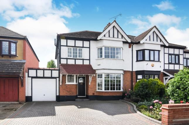 Thumbnail Semi-detached house for sale in Harold Wood, Havering, United Kingdom