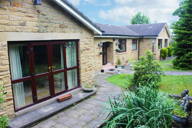 Thumbnail Detached bungalow for sale in Hill Side Rise, Liversedge, West Yorkshire