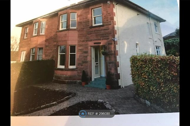 Semi-detached house to rent in Mosshead Road, Glasgow