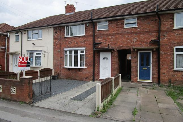 Thumbnail Terraced house to rent in Alexandra Road, Walsall