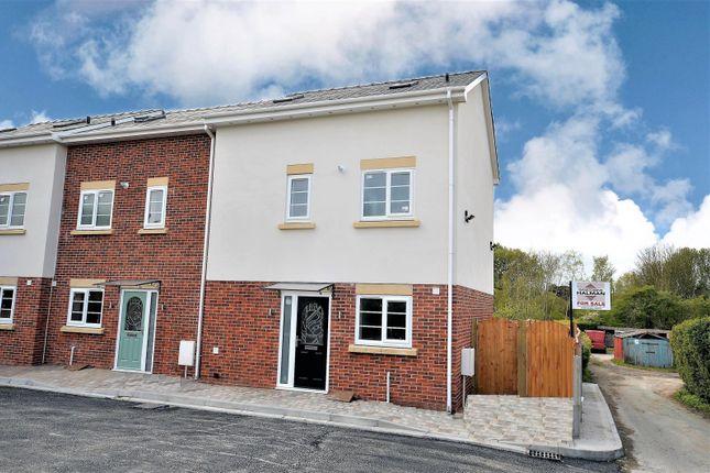 Thumbnail End terrace house for sale in John Road, Lymm