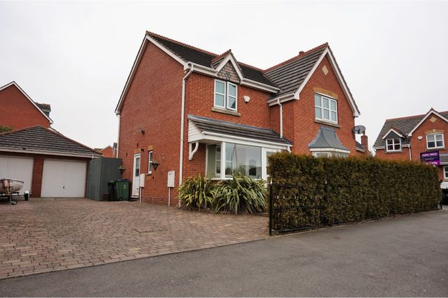 Thumbnail Detached house for sale in Old Park Road, Wednesbury