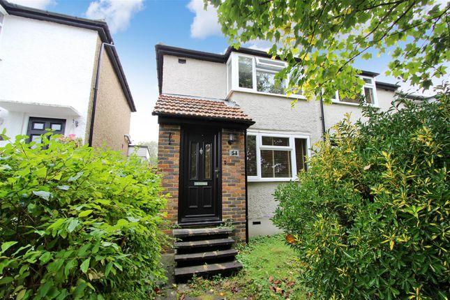 Thumbnail End terrace house for sale in Sunnyhill Road, Boxmoor, Hemel Hempstead, Hertfordshire
