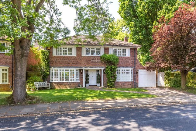 Thumbnail Detached house for sale in Sunderland Avenue, St. Albans, Hertfordshire