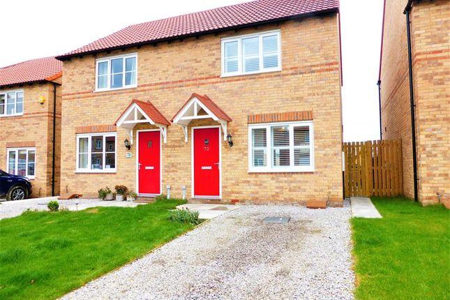 2 bed semi-detached house for sale in West Moor Croft, Goldthorpe, Rotherham