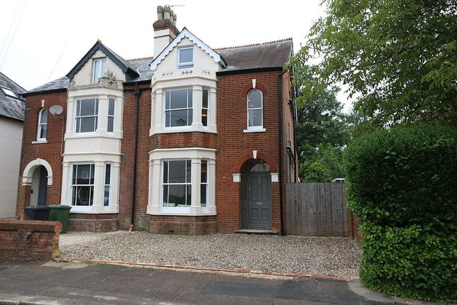 Thumbnail Semi-detached house for sale in Cromwell Road, Basingstoke, Hampshire