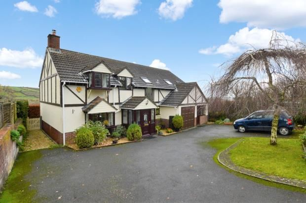 Thumbnail Detached house for sale in Foxdon Hill, Wadeford, Chard, Somerset