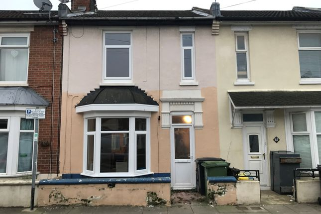 Thumbnail Terraced house to rent in Knox Road, Stamshaw