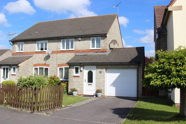 Thumbnail Semi-detached house for sale in Clos Ogney, Llantwit Major