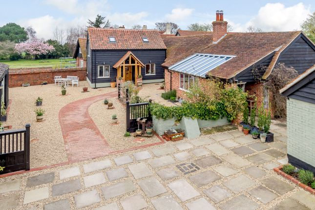 Thumbnail Farmhouse for sale in Landermere Road, Thorpe-Le-Soken, Essex