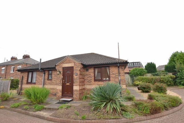 Thumbnail Detached bungalow for sale in Poplar Grove, Scotter, Gainsborough