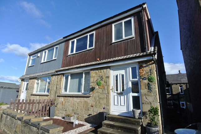 Thumbnail Semi-detached house for sale in Taylor Street, Golcar, Huddersfield