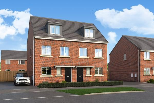 "Thumbnail Property for sale in ""The Bamburgh At Aurora, Castleford"" at Flass Lane, Castleford"