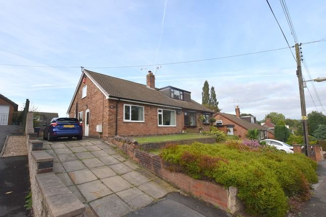 Thumbnail Semi-detached bungalow to rent in Moss Lane, Madeley, Crewe