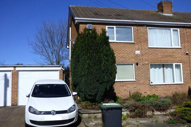 Thumbnail Flat to rent in Brampton Drive, Stapleford, Nottingham
