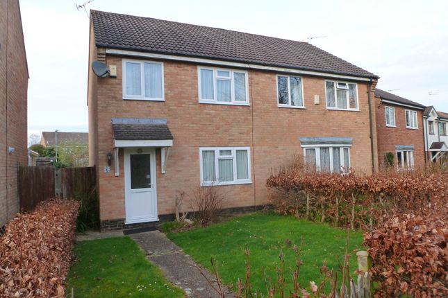 Thumbnail Semi-detached house for sale in Foxes Close, Verwood