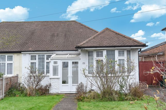 Thumbnail Semi-detached bungalow for sale in Oakhill Road, Sutton