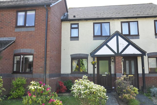 Thumbnail Terraced house to rent in Weycroft Close, Exeter