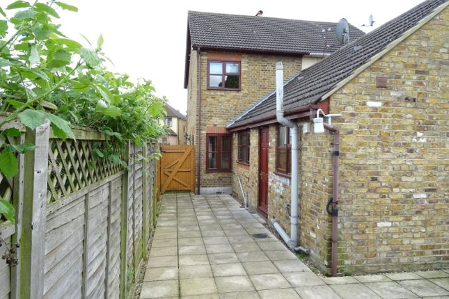 Thumbnail Semi-detached house for sale in Grange Road, New Haw