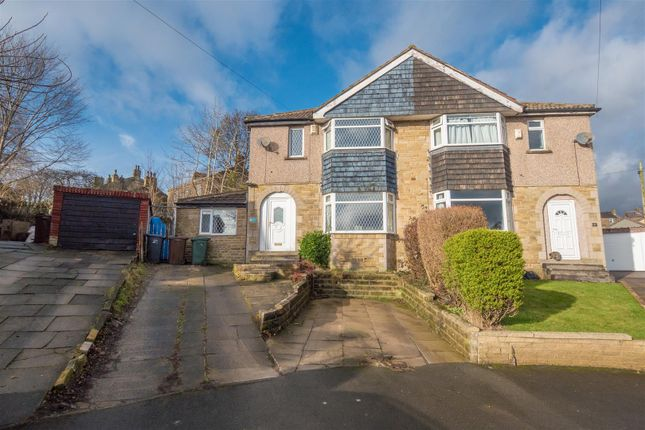 Thumbnail Semi-detached house for sale in Robin Drive, Bradford