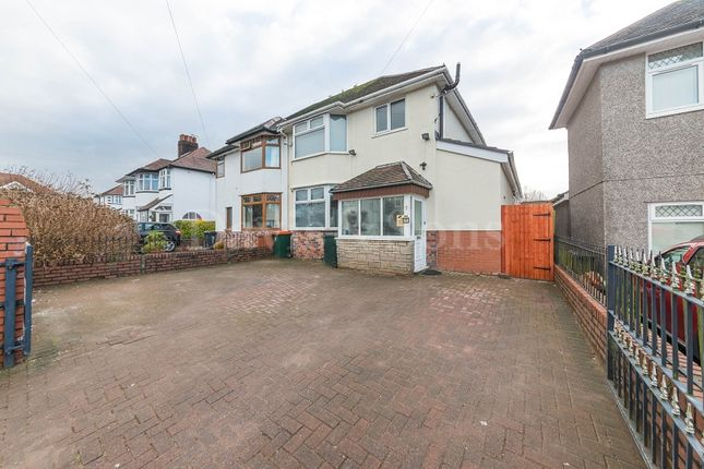 Thumbnail Semi-detached house for sale in Burnfort Road, Off Bassaleg Road, Newport.