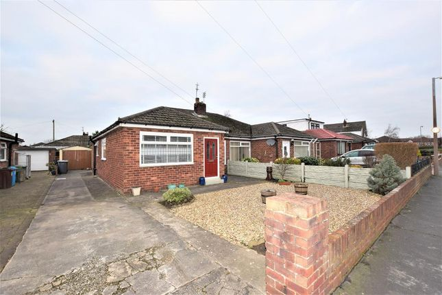 Thumbnail Semi-detached bungalow to rent in Derwent Drive, Freckleton, Preston, Lancashire