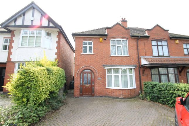 Thumbnail Semi-detached house for sale in Hinckley Road, Nuneaton