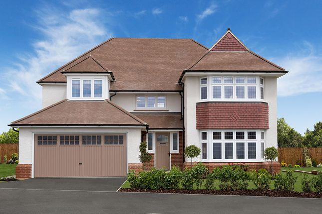 "Thumbnail Detached house for sale in ""Richmond"" at Deer Park Lane, Bassaleg, Newport"