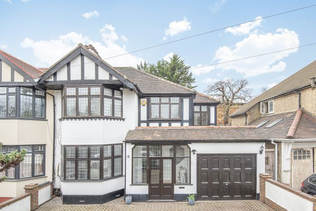 4 bed semi-detached house for sale in Rafford Way, Bromley BR1