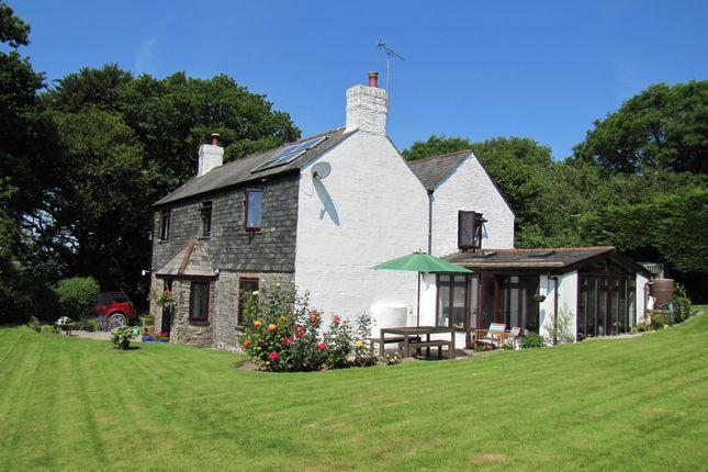 Thumbnail Farmhouse for sale in Horningtops, Liskeard