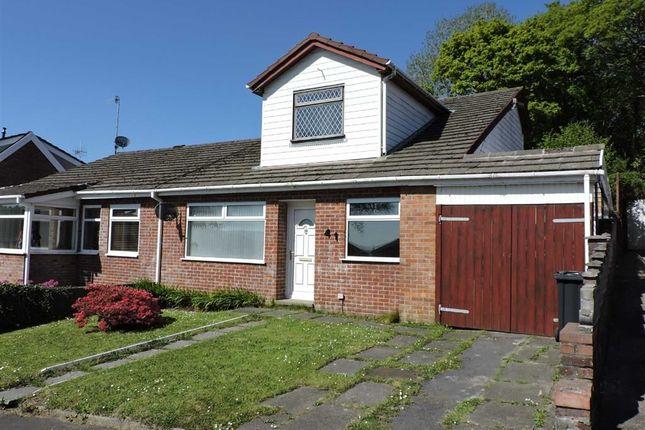 Thumbnail Semi-detached bungalow for sale in Tyn Y Cae, Alltwen, Pontardawe, Swansea