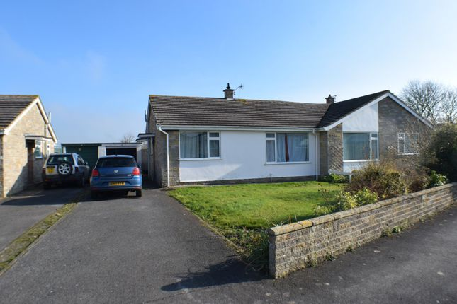 Thumbnail Semi-detached bungalow to rent in Meadow Gardens, Stogursey, Bridgwater