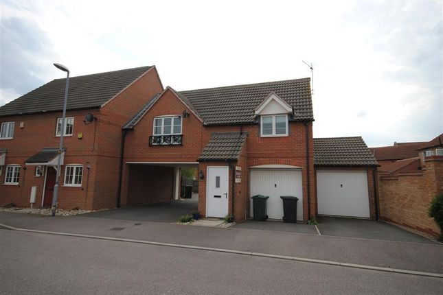 Thumbnail Flat to rent in Willet Close, Sileby, Loughborough