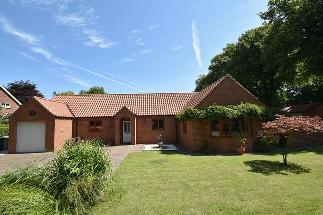 Thumbnail Detached bungalow for sale in Carlton Road, Manby, Louth