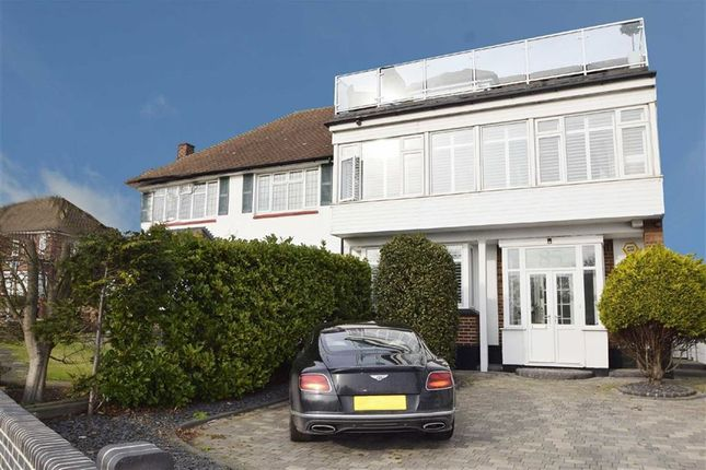 Thumbnail Semi-detached house for sale in The Ridgeway, Westcliff-On-Sea, Essex
