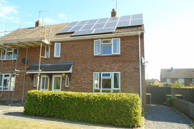 Thumbnail Semi-detached house for sale in Church Close, Shawbury, Shrewsbury