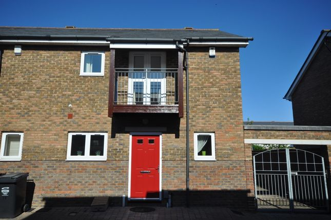 Thumbnail End terrace house to rent in Hatton Mews, Greenhithe