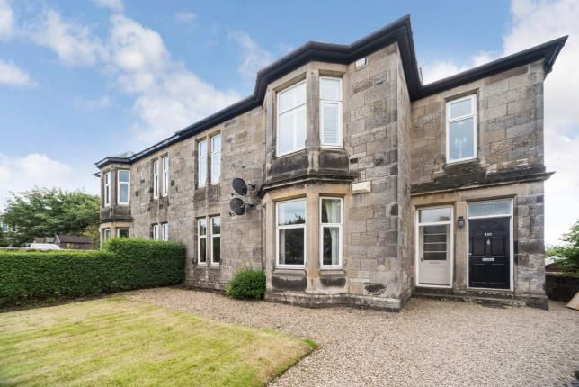 Thumbnail Flat for sale in Kings Road, Beith, North Ayrshire, .