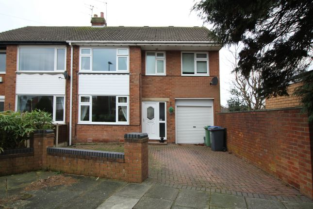 Thumbnail Semi-detached house for sale in Ridgeway Drive, Thornton-Cleveleys