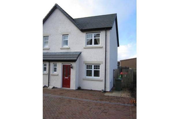 Thumbnail Semi-detached house to rent in Sydney Gardens, Lockerbie