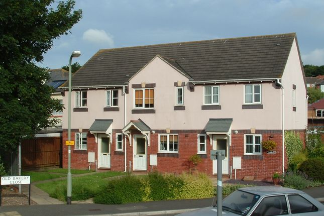 Thumbnail Terraced house to rent in Old Bakery Close, Exeter
