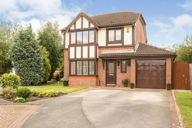 Thumbnail Detached house for sale in Duddon Close, Northwich, Cheshire