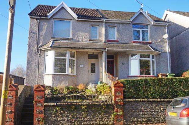 Thumbnail Semi-detached house for sale in Penallta Road, Ystrad Mynach