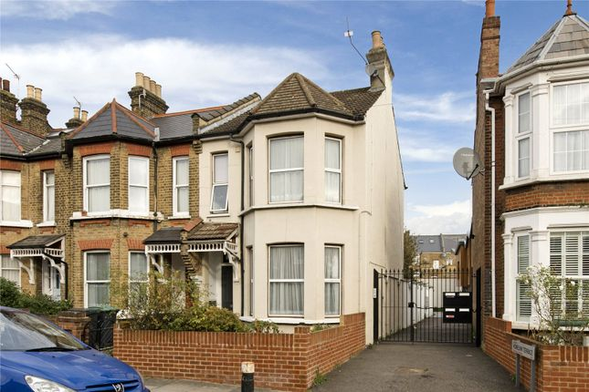 Thumbnail End terrace house to rent in Thorold Road, Bowes Park, London