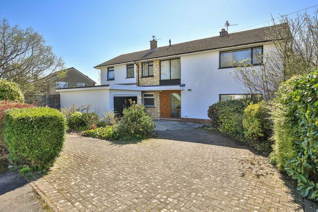 Thumbnail Detached house for sale in Mill Place, Lisvane, Cardiff